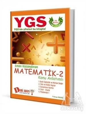 YGS Matematik 2 Konu Anlatımı