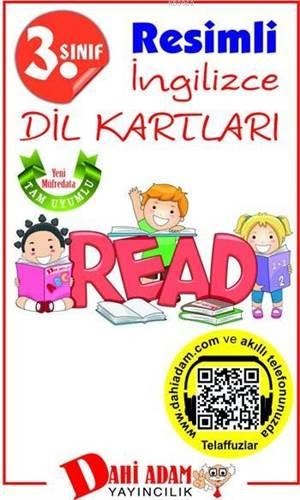 3. Sınıf Resimli İngilizce Dil Kartları