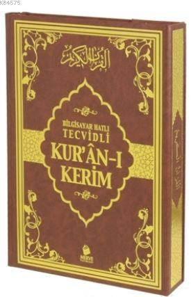 Bilgisayar Hatlı Tecvidli Kur'an-I Kerim (Rahle Boy)