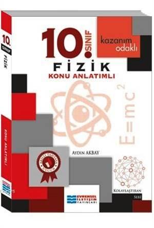 10. Sınıf Fizik Konu Anlatımlı; Kazanım Odaklı - Kolaylaştıran Seri