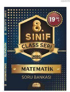 8. Sınıf Class Seri Matematik Soru Bankası