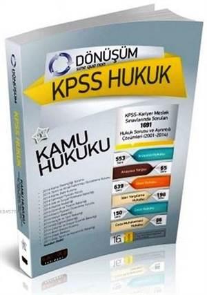 Dönüşüm KPSS A Huk ...