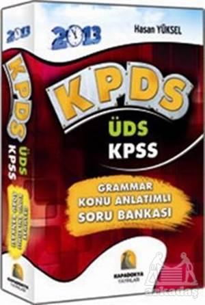 İngilizce KPDS-ÜDS 2013 Grammar Konu Anlatımlı Soru Bankası