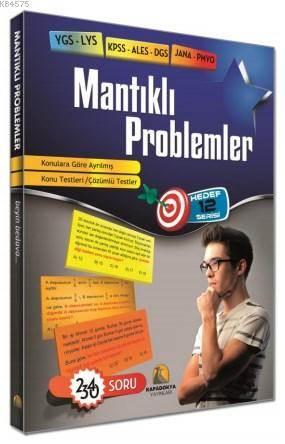 Mantıklı Problemler 2340 Soru; YGS-LYS KPSS-ALES-DGS JANA-PMYO