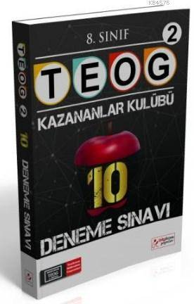 8. Sınıf TEOG 2 Kazananlar Kulübü 10 Deneme Sınavı