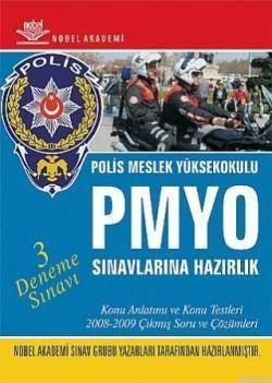 PMYO Polis Meslek Yüksekokulu Sınavlarına Hazırlık; (3 Deneme Sınavı)