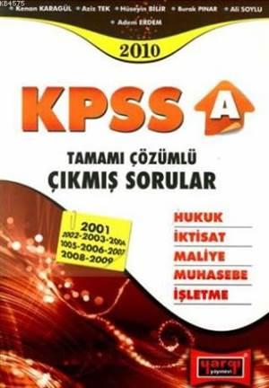 Yargı KPSS-A Tamamı Çözümlü Ç.S.