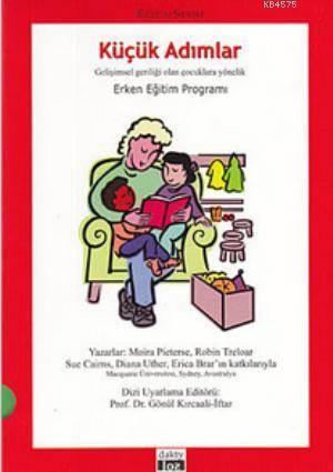 Küçük Adımlar (8 Kitap Takım); Gelişimsel Geriliği Olan Çocuklara Yönelik Erken Eğitim Programı