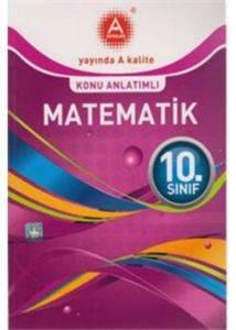 10.Sınıf Matematik Konu Anlatımlı