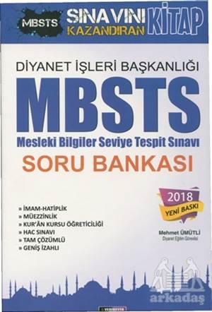 2018 Diyanet İşleri Başkanlığı MBSTS (Mesleki Bilgiler Seviye Tespit Sınavı) Soru Bankası