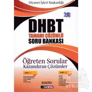 2018 DHBT Tamamı Çözümlü Soru Bankası Öğreten Sorular