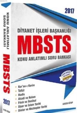2017 Diyanet İşleri Başkanlığı MBSTS Konu Anlatımlı Soru Bankası