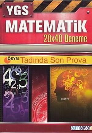 YGS Matematik 20X40 Deneme