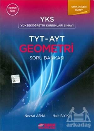 Esen Tyt - Ayt Geometri Soru Bankası Kırmızı Seri