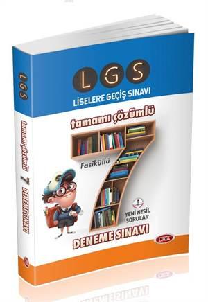 Lgs Tamamı Çözümlü Fasikül 7 Deneme Sınavı