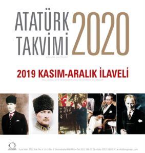 Atatürk Masa Takvimi 2020