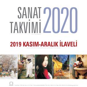 Sanat Takvimi 2020 Duvar Takvimi