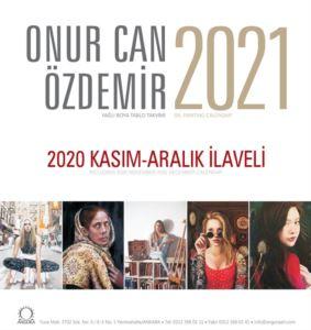 Onur Özdemir Masa Takvimi 2021