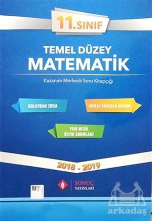 11. Sınıf Temel Düzey Matematik