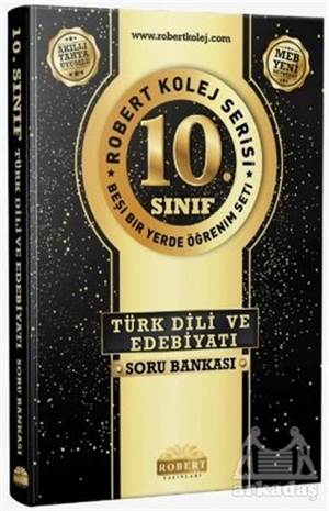 10. Sınıf Türk Dili Edebiyatı  Soru Bankası - Robert Kolej Serisi