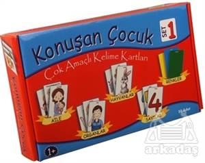 Konuşan Çocuk Çok Amaçlı Kelime Kartları Set - 1