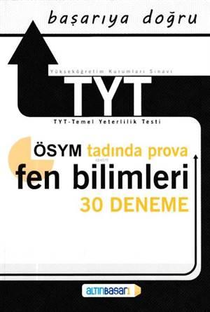 YKS-TYT Fen Bilimleri 30 Deneme