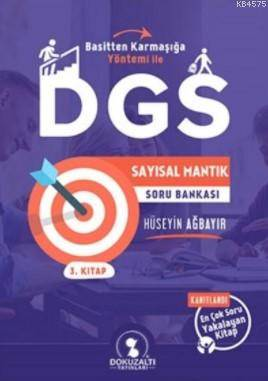 Dokuzaltı DGS Sayısal Mantık Soru Bankası 3. Kitap