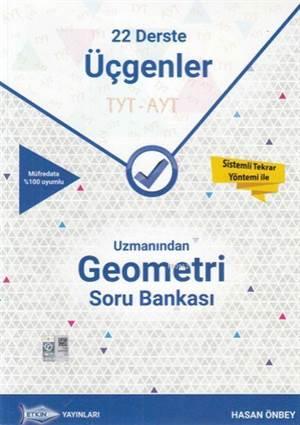 TYT AYT Uzmanından Geometri Soru Bankası; 22 Derste Üçgenler