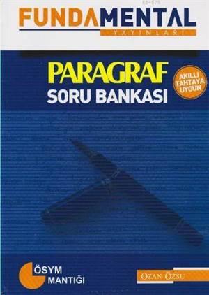 Paragraf Soru Bankası; ÖSYM Mantığı - Akıllı Tahtaya Uygun
