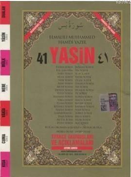 41 Yasin Arapça Ve Türkçe Okunuşlu Mealli Mini Boy