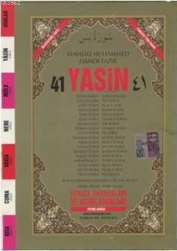 41 Yasin Arapça Ve Türkçe Okunuşlu Mealli Fihristli Çanta Boy