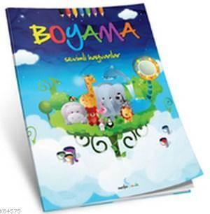 Boyama Serisi - Sevimli Hayvanlar
