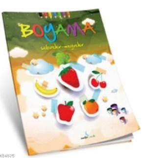 Boyama Serisi - Sebzeler - Meyveler