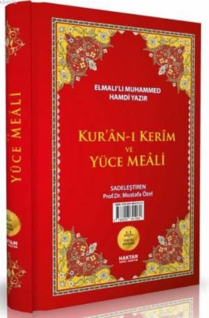 Kur'ân-I Kerîm Ve Yüce Meâli (Kod:H-6, Cami Boy)