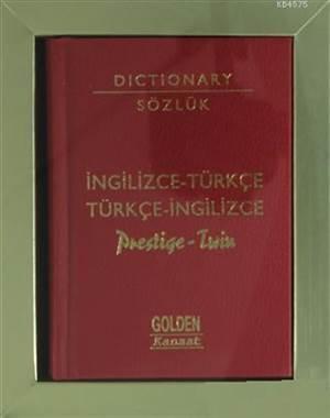 İngilizce-Türkçe, Türkçe-İngilizce Sözlük