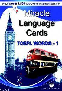 Miracle Language Cards - TOEFL Words 1