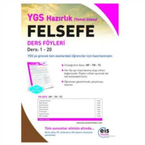 Eis Ygs Felsefe Ders Föyü 1-20
