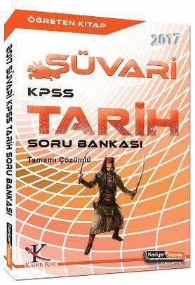 2017 Süvari KPSS Tarih Çözümlü Soru Bankası