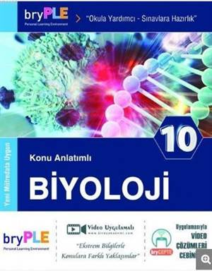 Birey PLE 10. Sınıf Biyoloji Konu Anlatımlı Yeni