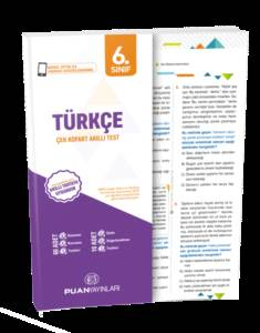 6. Sınıf Türkçe Çek Kopart Akıllı Test
