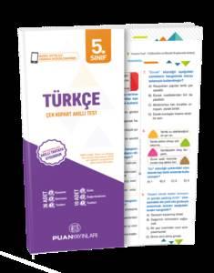 5. Sınıf Türkçe Çek Kopart Akıllı Test