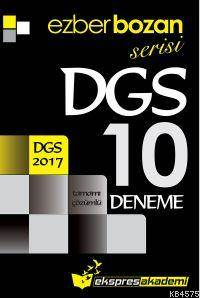 Ezberbozan Serisi DGS Tamamı Çözümlü 10 Deneme 2017
