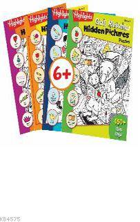 Highlights Hidden Pictures Puzzles (Gizli Resimler) 2 'Li Set
