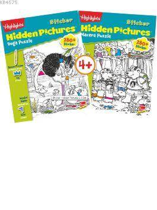 Highlights Uzmanlar İçin Hidden Pictures (Gizli Resimler) 2'Li Set