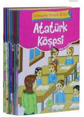 Odamdaki Kitaplık Seti (10 Kitap Takım - Küçük Boy); 1. Ve 2. Sınıflar İçin Eğik Yazılı