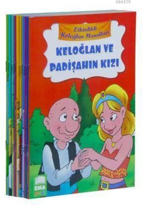 Etkinlikli Keloğlan Masalları (10 Kitap Takım-Küçük Boy); 1. Ve 2. Sınıflar İçin Düz Yazılı