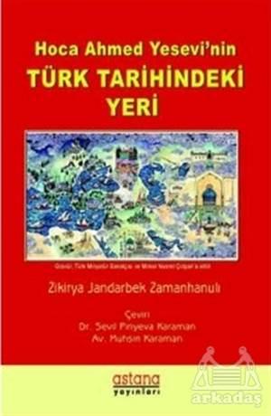 Hoca Ahmet Yesevi'nin Türk Tarihindeki Yeri