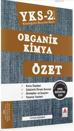 YKS 2. Oturum Organik Kimya Özet