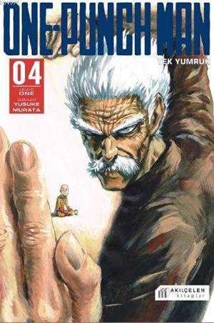 One-Punch Man-Tek Yumruk Cilt 4