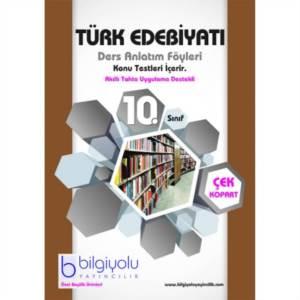 Bilgi Yolu 10.Sınıf Türk Edebiyatı DAF